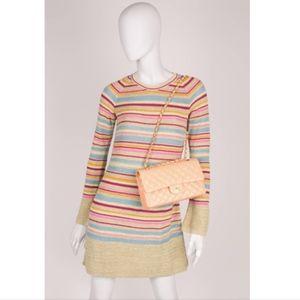 Chanel Saint Tropez Candy Knit Resort Dress - 38